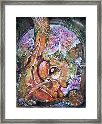 Fomorii Incubator - In The Beginning Framed Print