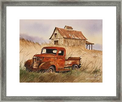 Fond Country Memories Framed Print
