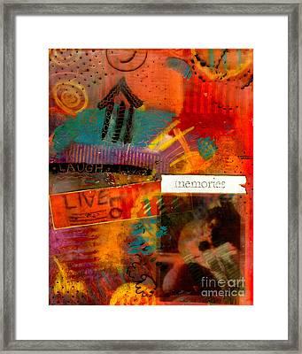 Fond Memories Framed Print by Angela L Walker