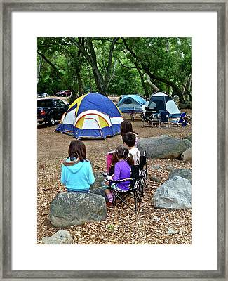Fond Memories Framed Print