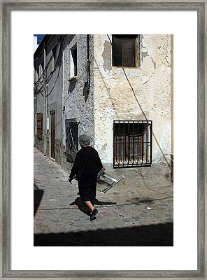 Fondon 15 Framed Print by Jez C Self