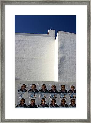 Fondon 2 Framed Print by Jez C Self