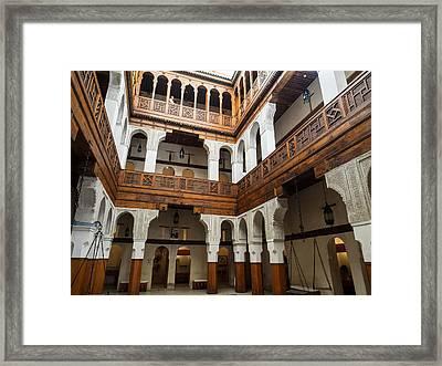 Fondouk El-nejjarine Built Framed Print by Panoramic Images