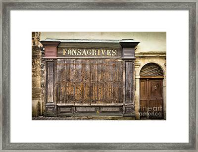 Fonsagrives In Saint-antonin-noble-val Framed Print by RicardMN Photography