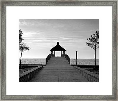 Fontainbleu State Park Framed Print by Heather S Huston