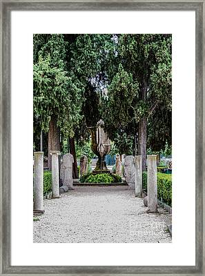 Fontane Framed Print by Joseph Yarbrough