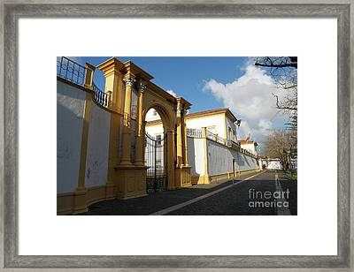Fonte Bela Palace - Azores Framed Print by Gaspar Avila