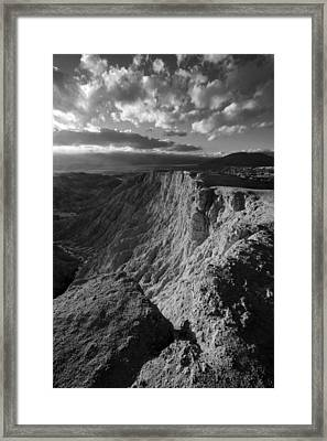 Font's Point Framed Print by Peter Tellone