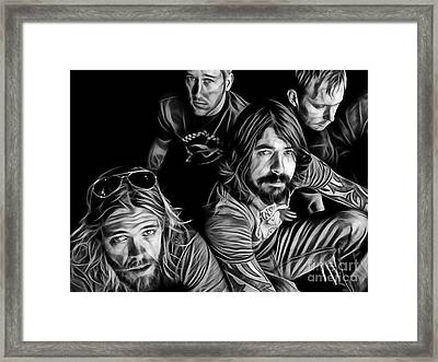 Foo Fighters Collection Framed Print