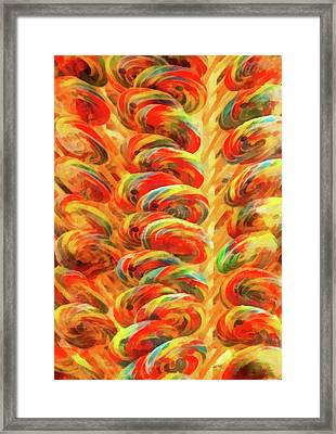 Food - Candy - Lollipops Framed Print by Mike Savad