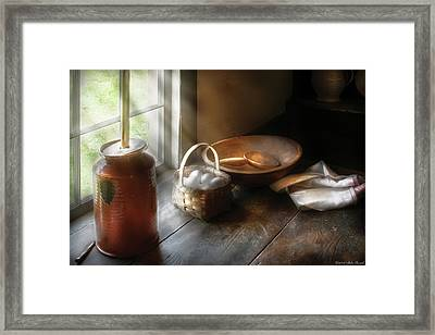 Food - Morning Eggs Framed Print by Mike Savad
