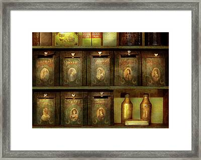 Food - The Spice Extends Life  Framed Print