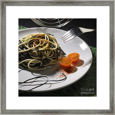 Food Framed Print