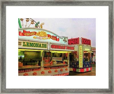 Food And Fun Framed Print by JAMART Photography