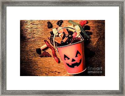 Food For The Little Halloween Spooks Framed Print by Jorgo Photography - Wall Art Gallery