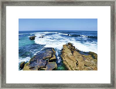 Food For The Soul Framed Print