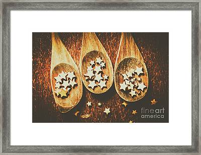 Food Judging Competition Framed Print