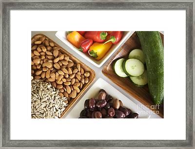 Food Varieties II Framed Print