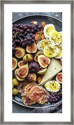 Foodie Phone Case Framed Print by Edward Fielding