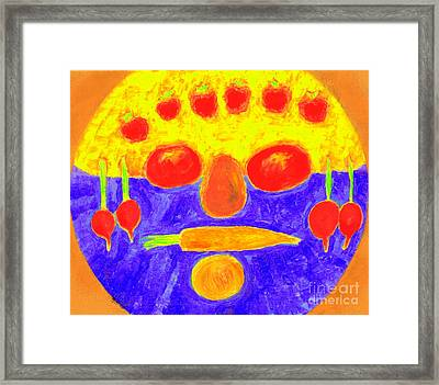 Foodman  Framed Print by Richard W Linford