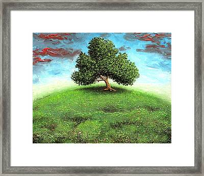 Fool On The Hill Framed Print by Cristophers Dream Artistry