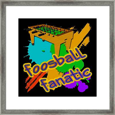 Foosball Fanatic Framed Print by David G Paul