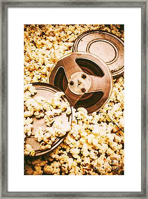 Footage From An Antique Motion Picture Framed Print by Jorgo Photography - Wall Art Gallery