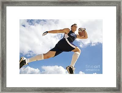 Football Athlete II Framed Print