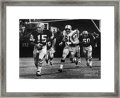 Football Game, 1966 Framed Print by Granger