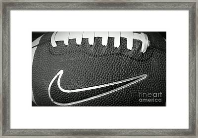 Football Framed Print by LKB Art and Photography