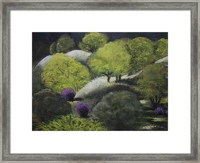 Foothill Spring Framed Print