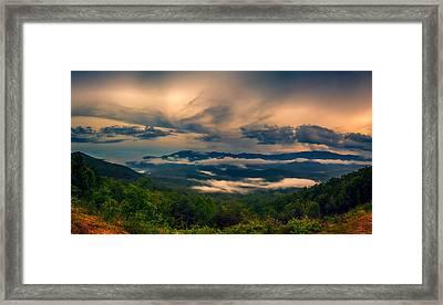 Foothills Parkway Framed Print