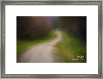 Footpath Framed Print by Richard Thomas