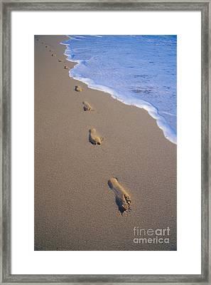 Footprints Framed Print by Don King - Printscapes