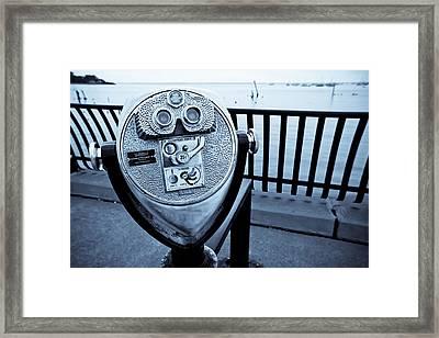 For A Quarter - View Tower Framed Print