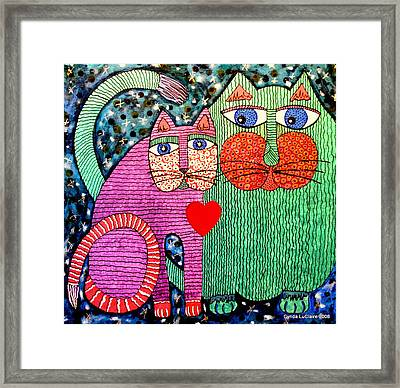 For All The Cats I Framed Print by Cynda LuClaire