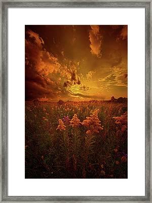 For Body Mind And Soul Framed Print