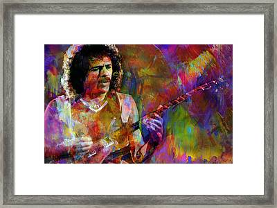 For Carlos Framed Print