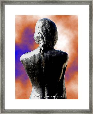 For Eternity Framed Print by Vince Green