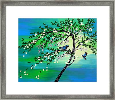 For Ever And Ever Us Framed Print by Cathy Jacobs
