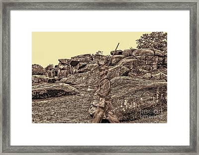 For Ever Watch At Devils Den Framed Print by Tommy Anderson