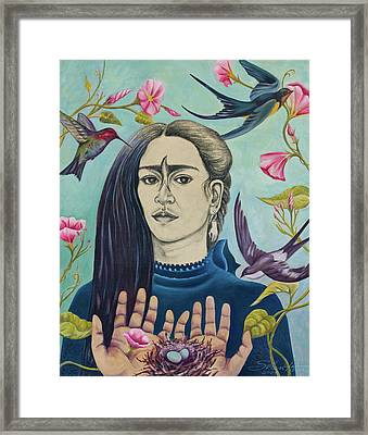 For Frida Framed Print by Sheri Howe