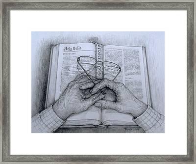 For God So Loved The World Framed Print