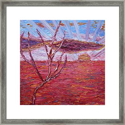 For Great Bright Tomorrow Framed Print by Vadim Levin
