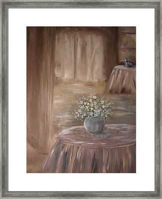 For Her Framed Print by Carrie Mayotte