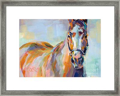 For Her Eyes Only Framed Print by Kimberly Santini