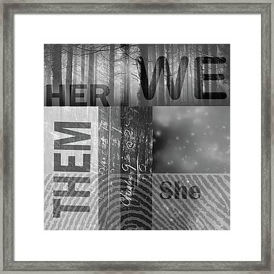 For Her Framed Print