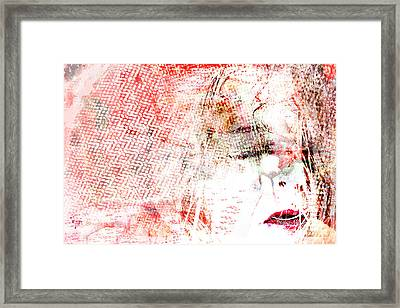 For I Am Framed Print by Danica Radman