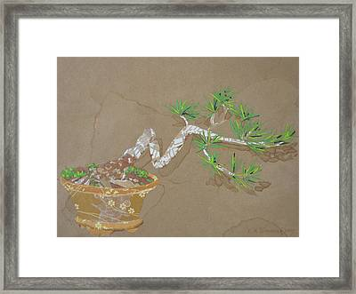 For Inge Framed Print by Leah  Tomaino