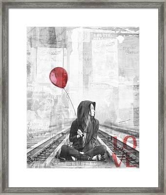 For Love Framed Print by Jacky Gerritsen